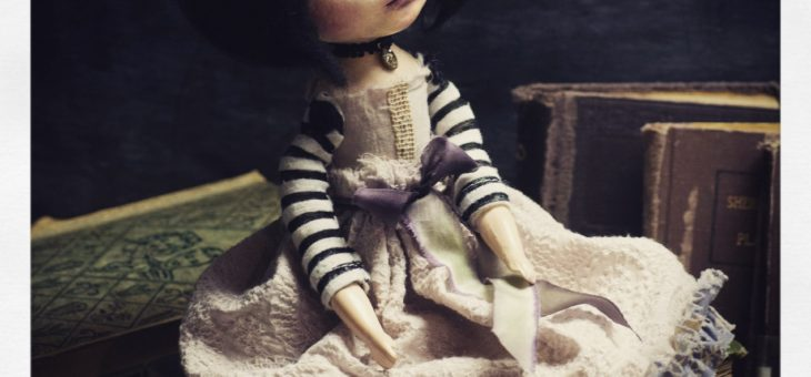 An art doll making mini tutorial by Danita
