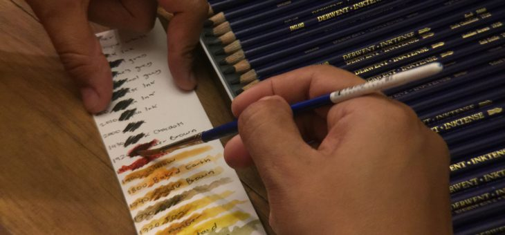 Product review: Derwent inktense color pencils