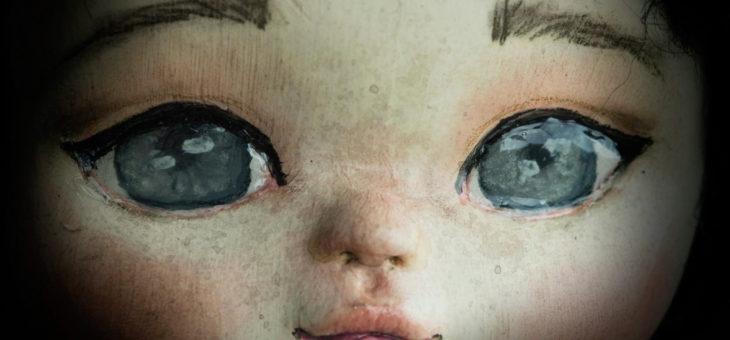 Fluffy bunny: An art doll self portrait